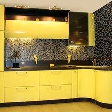 Фотография: Кухня и столовая в стиле , Декор интерьера, Дизайн интерьера, Цвет в интерьере, Желтый – фото на InMyRoom.ru