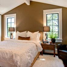 Фотография: Спальня в стиле Современный, Дом, Терраса, Дома и квартиры, Бассейн, Калифорния – фото на InMyRoom.ru