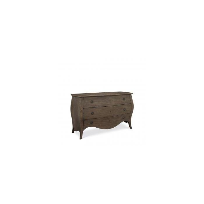 Комод GENOVESE BOW FRONT CREDENZA 3-DRAWERS