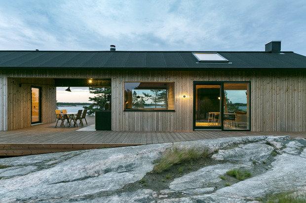Фотография: Терраса в стиле Минимализм, Дом и дача, Финляндия – фото на INMYROOM