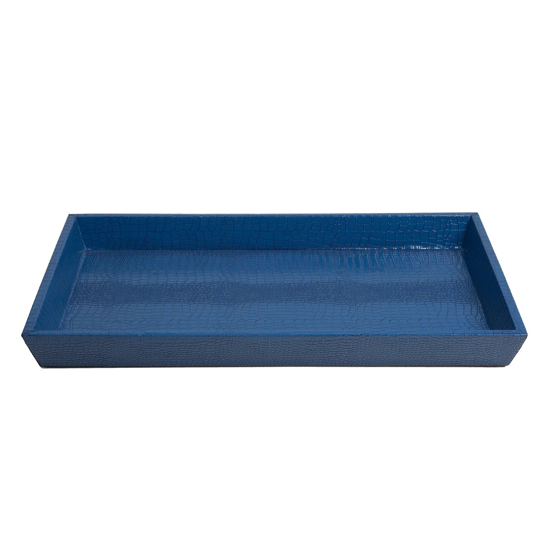 Декоративный поднос Kalipso синего цвета