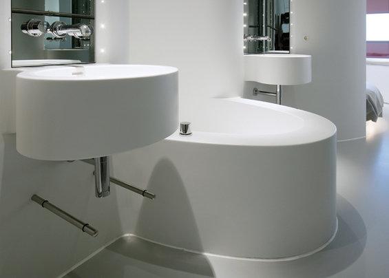 Фотография: Ванная в стиле Современный, Хай-тек, Дизайн интерьера – фото на INMYROOM