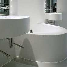 Фотография: Ванная в стиле Современный, Хай-тек, Дизайн интерьера – фото на InMyRoom.ru