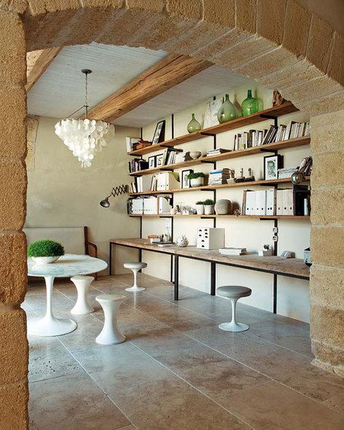 Фотография: Кабинет в стиле Эклектика, Декор интерьера, Дом, Франция, Дома и квартиры – фото на INMYROOM