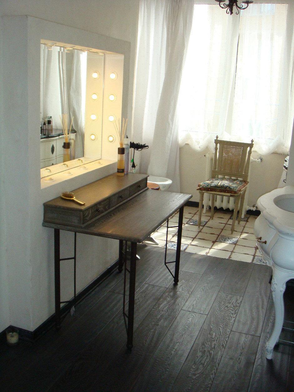 Фотография:  в стиле Прованс и Кантри, Ванная, Интерьер комнат, Проект недели – фото на InMyRoom.ru