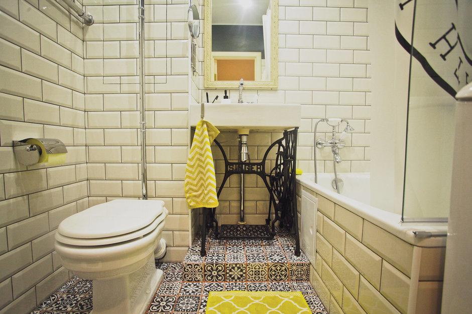 Фотография: Ванная в стиле Скандинавский, DIY, Квартира, Дома и квартиры, IKEA – фото на InMyRoom.ru