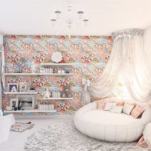 Фотография: Детская в стиле Кантри, Эклектика, Квартира, Дома и квартиры, Минимализм – фото на InMyRoom.ru