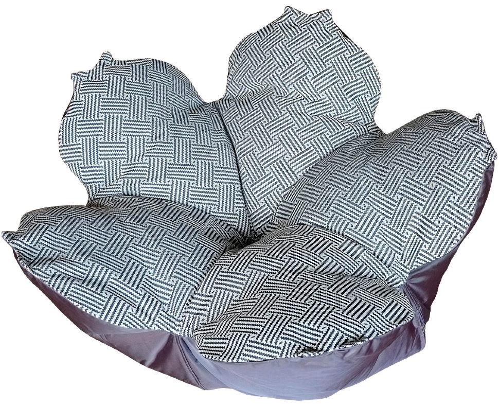 Кресло-мешок цветок l монохром, inmyroom, Россия  - Купить