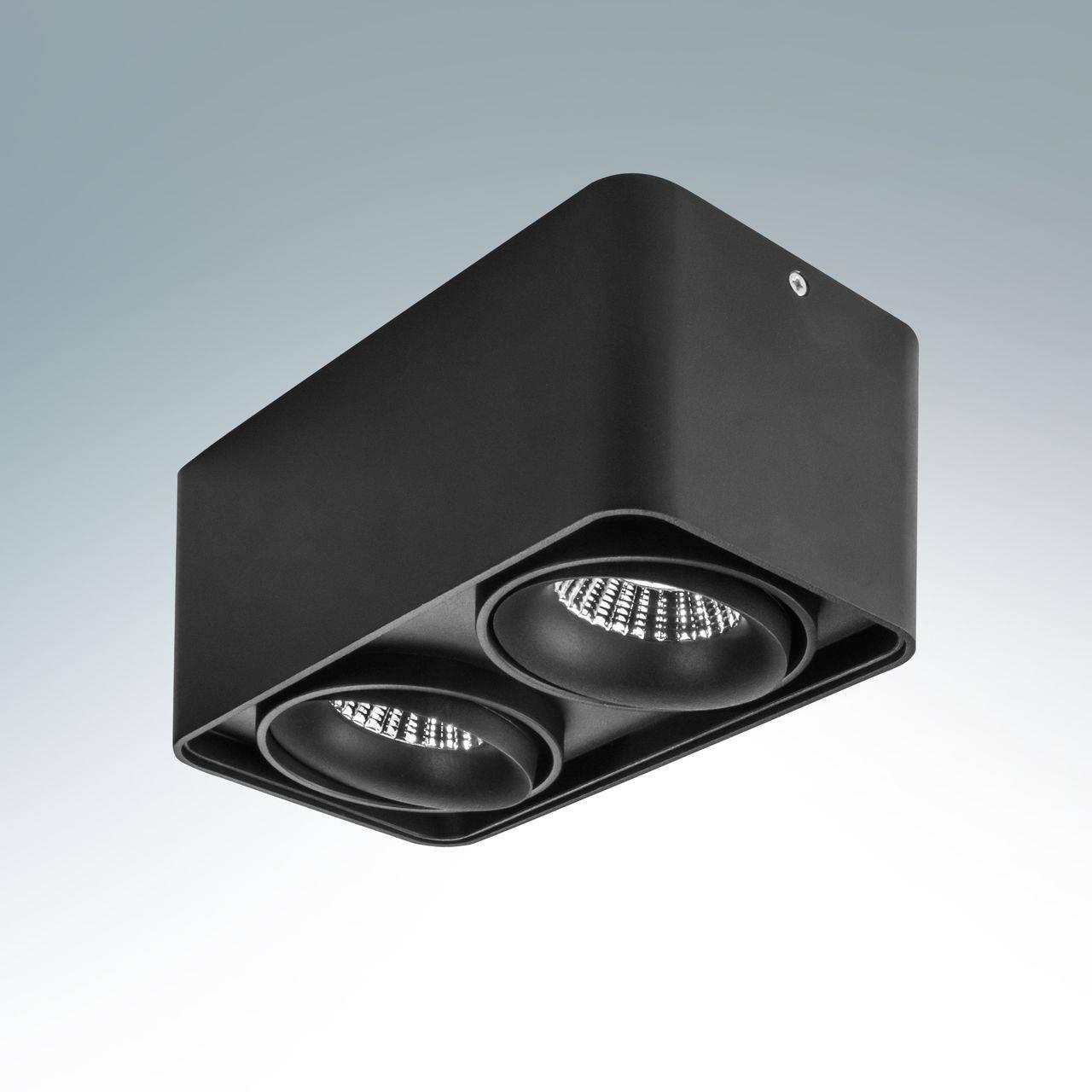 Купить со скидкой Потолочный светодиодный светильник Lightstar Monocco в современном стиле