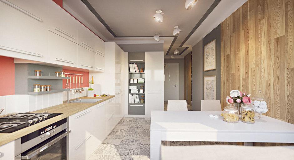 Фотография:  в стиле , Современный, Квартира, Проект недели, Калининград, Guinea Interior Design, новостройка, Панельный дом, 1 комната, 40-60 метров – фото на InMyRoom.ru