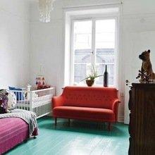 Фотография: Спальня в стиле Лофт, Декор интерьера, Декор дома, Пол – фото на InMyRoom.ru