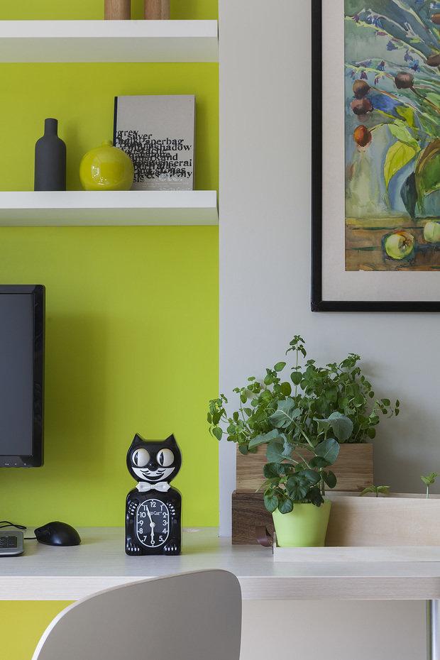 Фото из портфолио Ботаническая квартира для молодой пары – фотографии дизайна интерьеров на INMYROOM