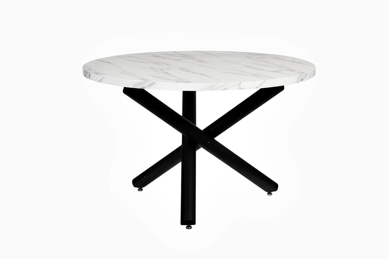 Купить Обеденный круглый стол со столешницей под мрамор, inmyroom, Китай