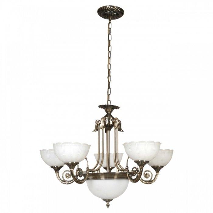 Подвесная люстра MW-Light Афина в классическом стиле