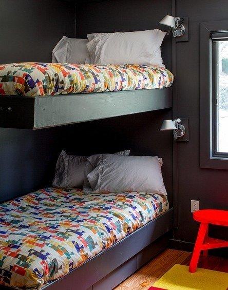 Фотография: Детская в стиле Лофт, Дом, Дома и квартиры, Нью-Йорк, Стол – фото на INMYROOM