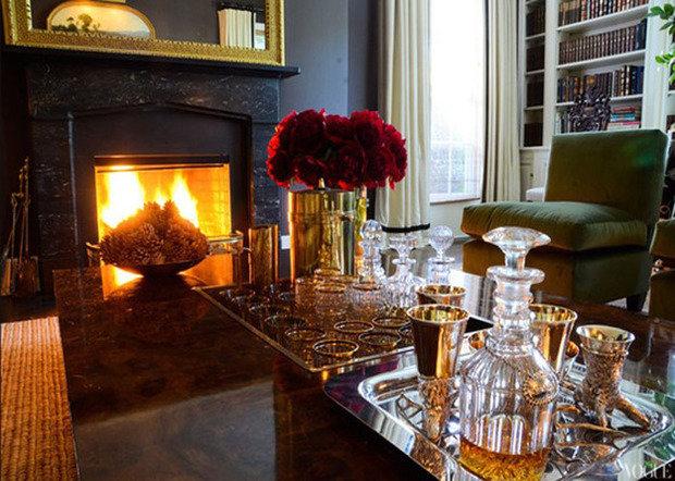 Фотография: Гостиная в стиле Прованс и Кантри, Декор интерьера, Мебель и свет – фото на InMyRoom.ru