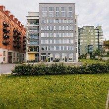 Фотография: Архитектура в стиле , Классический, Декор интерьера, Дизайн интерьера, Терраса, Цвет в интерьере, Стокгольм – фото на InMyRoom.ru