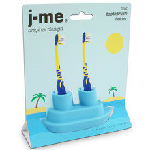 Держатель для зубной щетки  J-me boat голубой