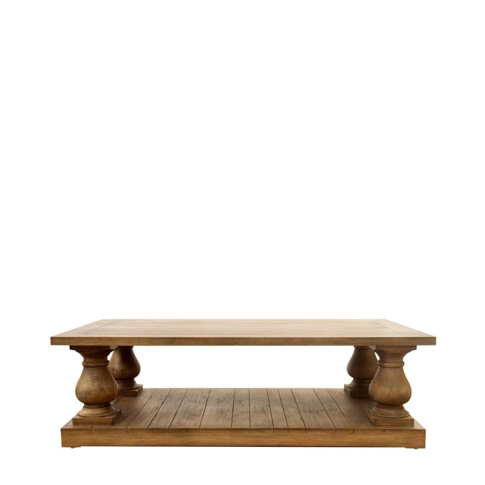 Купить Кофейный столик Iver из массива дерева махагон, inmyroom
