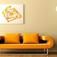 Фотография: Мебель и свет в стиле Современный, Хай-тек, Декор интерьера, Дом, Декор дома, Цвет в интерьере, Белый – фото на InMyRoom.ru