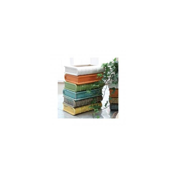 Ваза Terra Cotta Stacked Books Vase