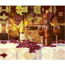 """Дизайнерская картина на холсте """"Жизнь винограда"""""""