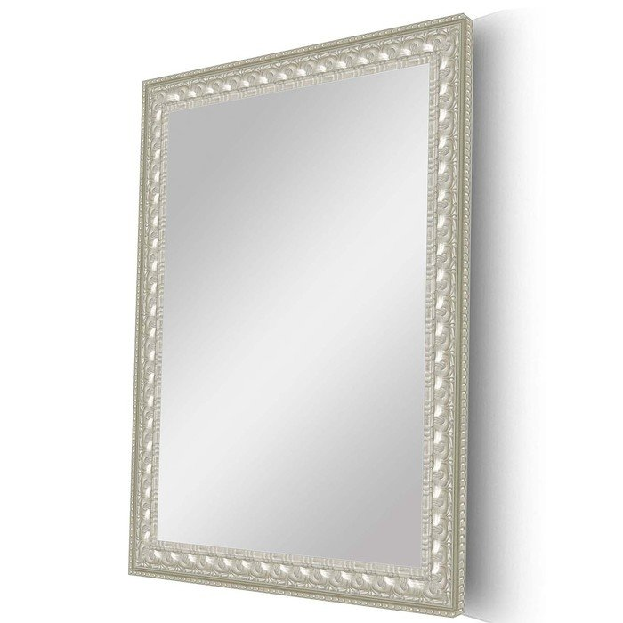 "Зеркало в серебристой раме ""Аюна"""