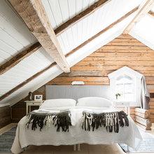 Фото из портфолио Красный Шведский деревянный дом – фотографии дизайна интерьеров на InMyRoom.ru