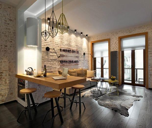 7 Basement Ideas On A Budget Chic Convenience For The Home: Квартира в стиле лофт: 80 фото идей оригинального дизайна
