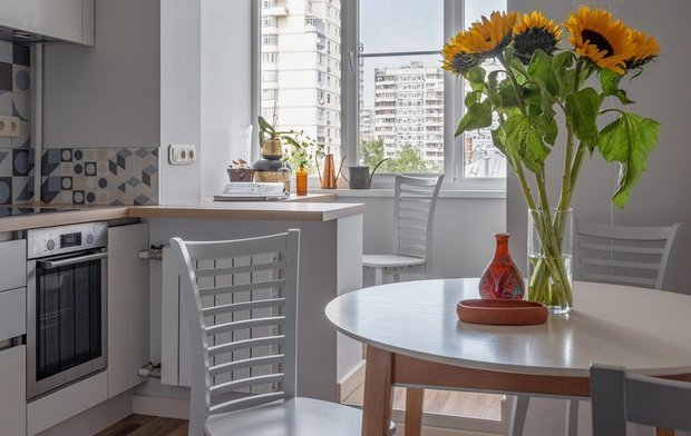 Фотография: Кухня и столовая в стиле Скандинавский, Декор интерьера – фото на INMYROOM