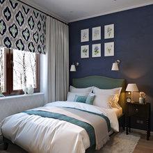Фотография: Спальня в стиле Кантри, Лофт, Квартира, Проект недели – фото на InMyRoom.ru