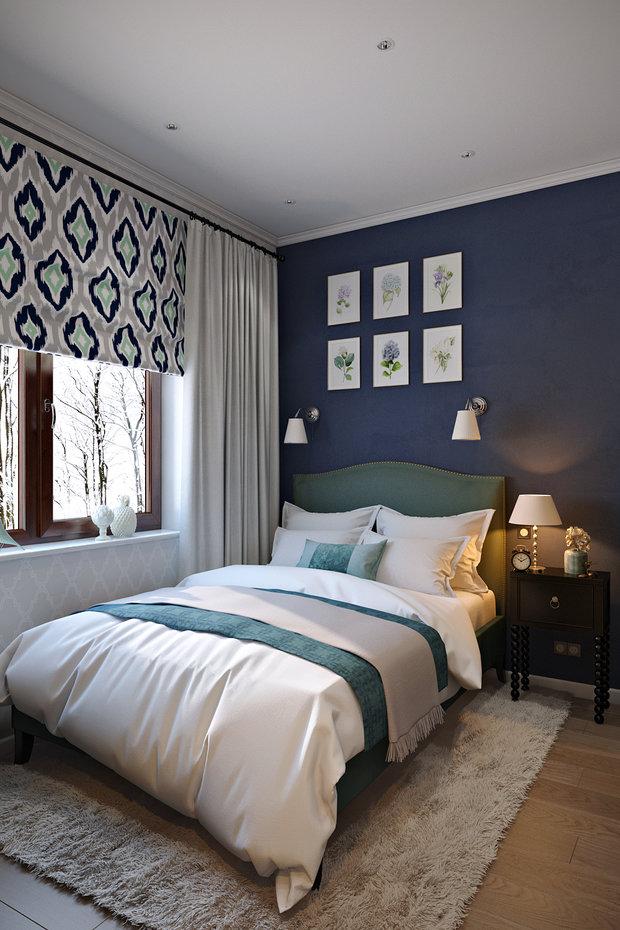 Фотография: Спальня в стиле Прованс и Кантри, Лофт, Квартира, Проект недели – фото на InMyRoom.ru