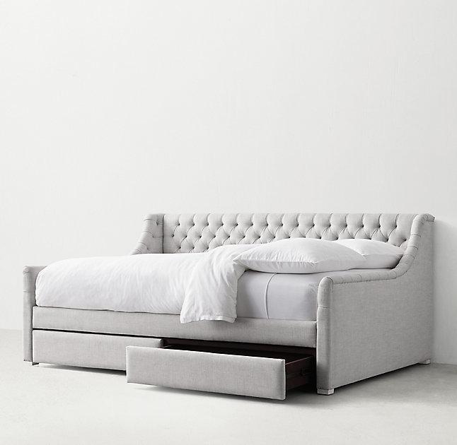 Диван-кровать Klick серого цвета