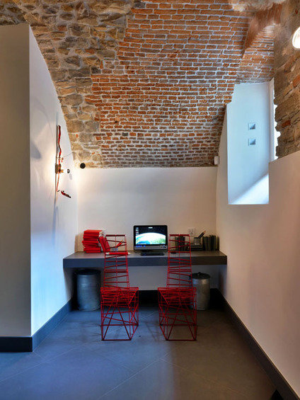 Фотография: Кабинет в стиле Лофт, Италия, Дома и квартиры, Городские места, Отель – фото на INMYROOM
