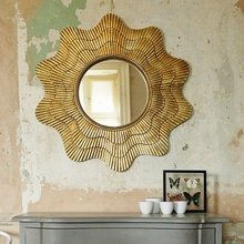 Фотография: Декор в стиле Лофт, Декор интерьера, Дом, Декор дома, Зеркало – фото на InMyRoom.ru