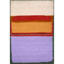 Картина (репродукция, постер): Orange over violet laine teintee tapis - Марк Ротко