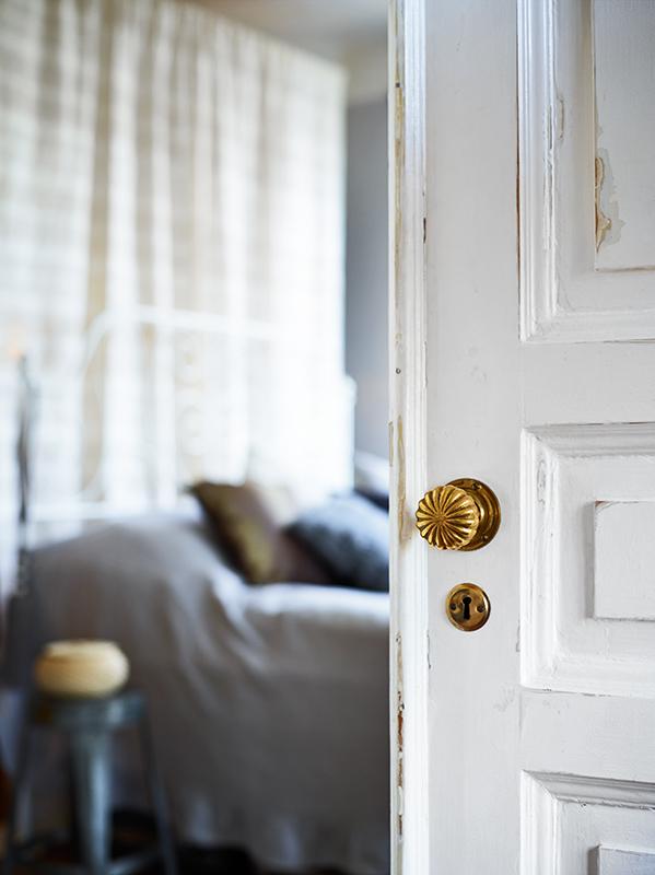 Фотография: Спальня в стиле Скандинавский, Малогабаритная квартира, Квартира, Дома и квартиры – фото на InMyRoom.ru
