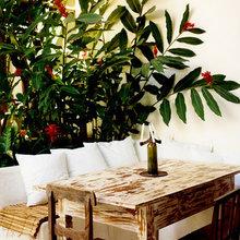 Фотография: Кухня и столовая в стиле Кантри, Дома и квартиры, Городские места, Отель, Свечи – фото на InMyRoom.ru