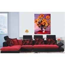 Декоративная картина: Букет подсолнухов