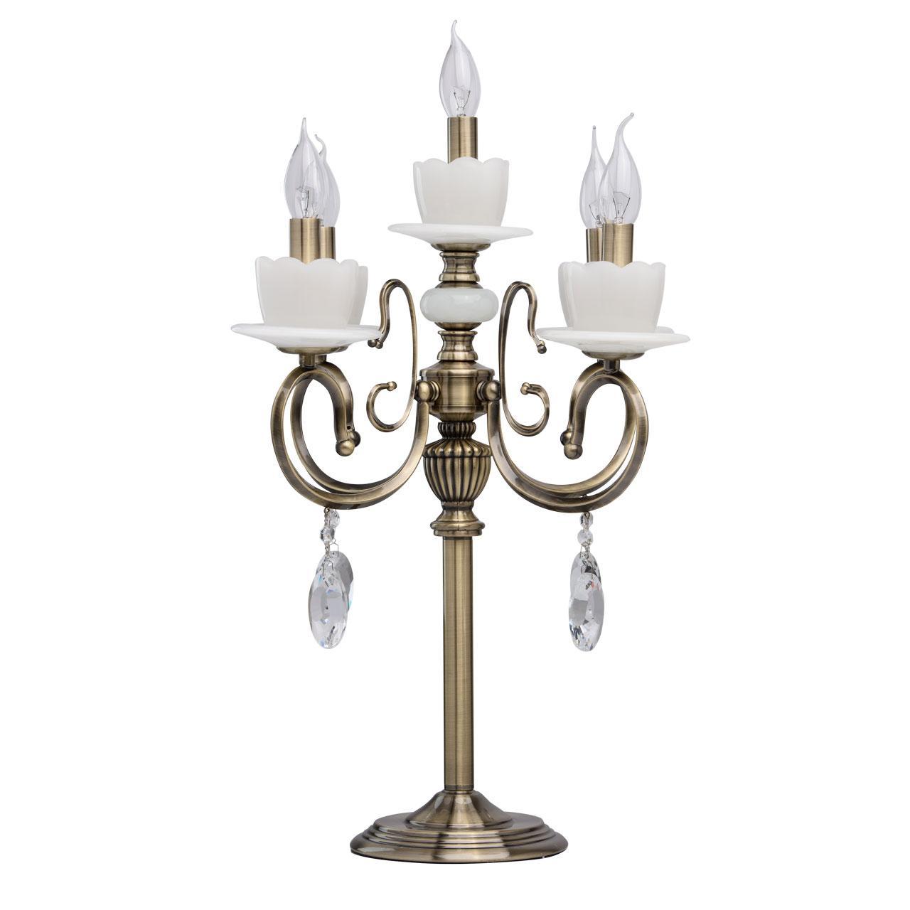Купить со скидкой Настольная лампа mw-Light свеча