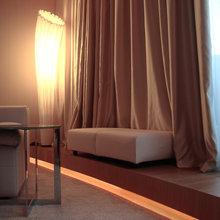 Фото из портфолио Пентхаус - 280 м. кв. Стиль: минимализм, современный. Архитектор - дизайнер: Елена Британишская – фотографии дизайна интерьеров на InMyRoom.ru