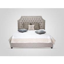 Кровать с подъемным механизмом бежевого цвета 160X200