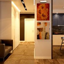 Фото из портфолио Современный интерьер с элементами стиля лофт – фотографии дизайна интерьеров на INMYROOM