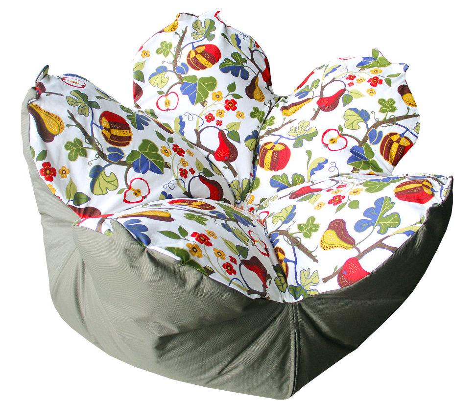 Кресло-мешок цветок фруктовый сад