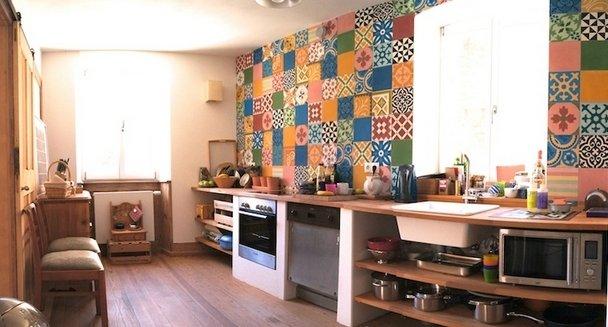 Фотография: Кухня и столовая в стиле Прованс и Кантри, Современный, Декор интерьера, Декор дома, Плитка – фото на InMyRoom.ru