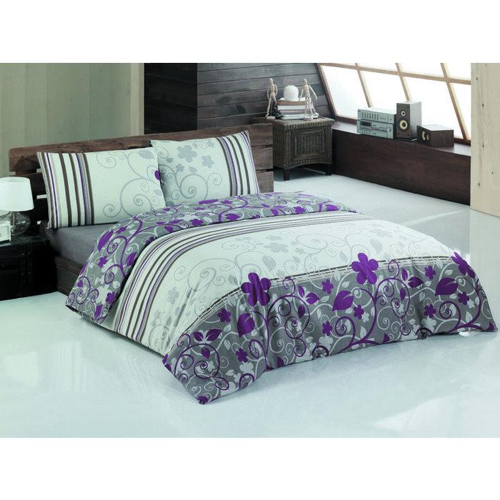1,5 комплект постельного белья CALANTHE  бордо