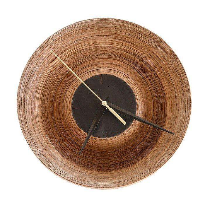 Часы Clo из натурального дерева