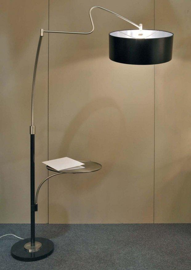 Фотография: Мебель и свет в стиле Современный, Интерьер комнат, Подсветка, Торшер – фото на InMyRoom.ru