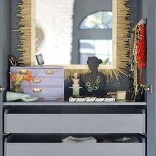 Фотография: Мебель и свет в стиле Эклектика, Гардеробная, Интерьер комнат, Гардероб – фото на InMyRoom.ru
