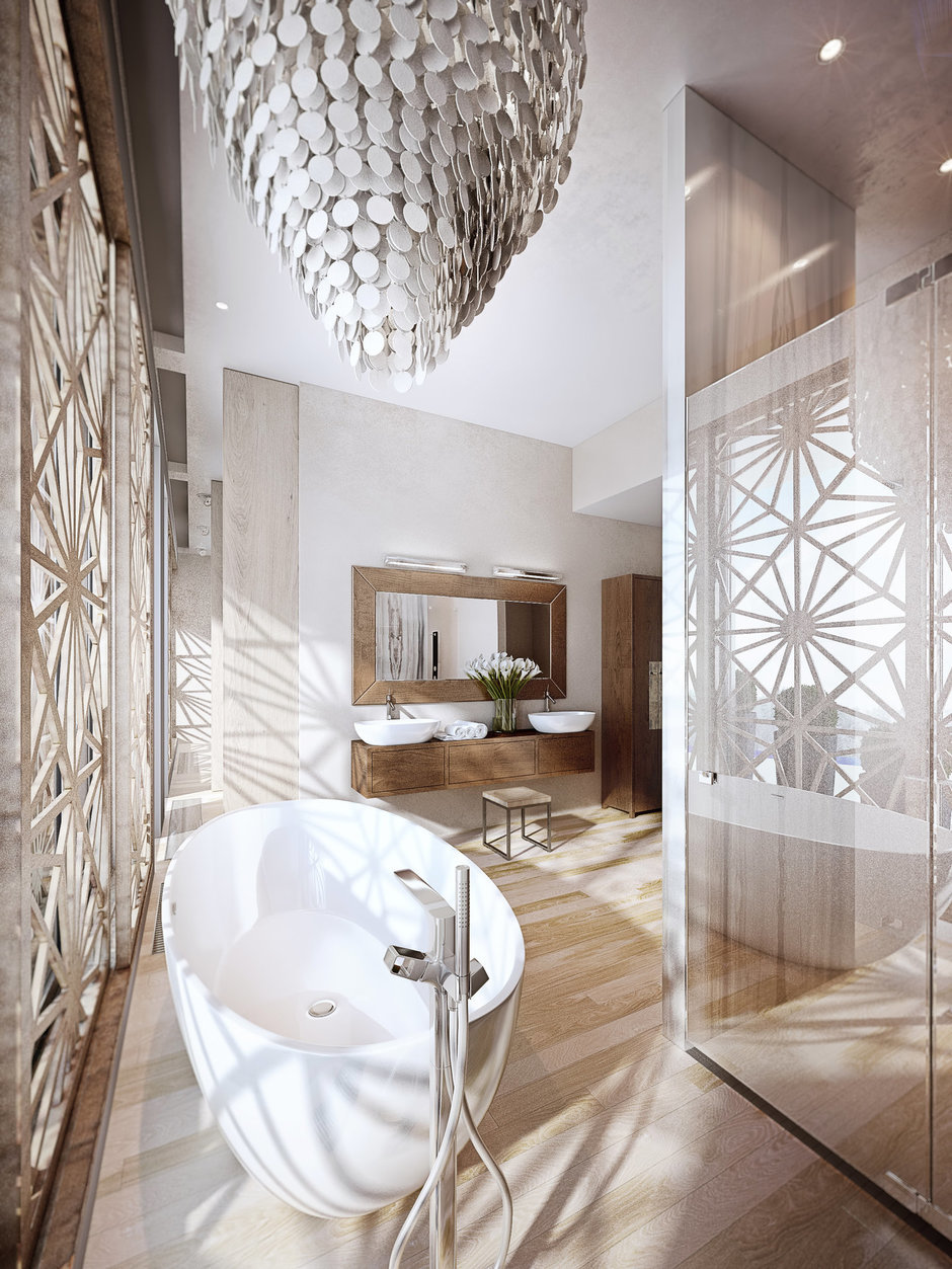 Фотография: Ванная в стиле Современный, Эко,  – фото на InMyRoom.ru